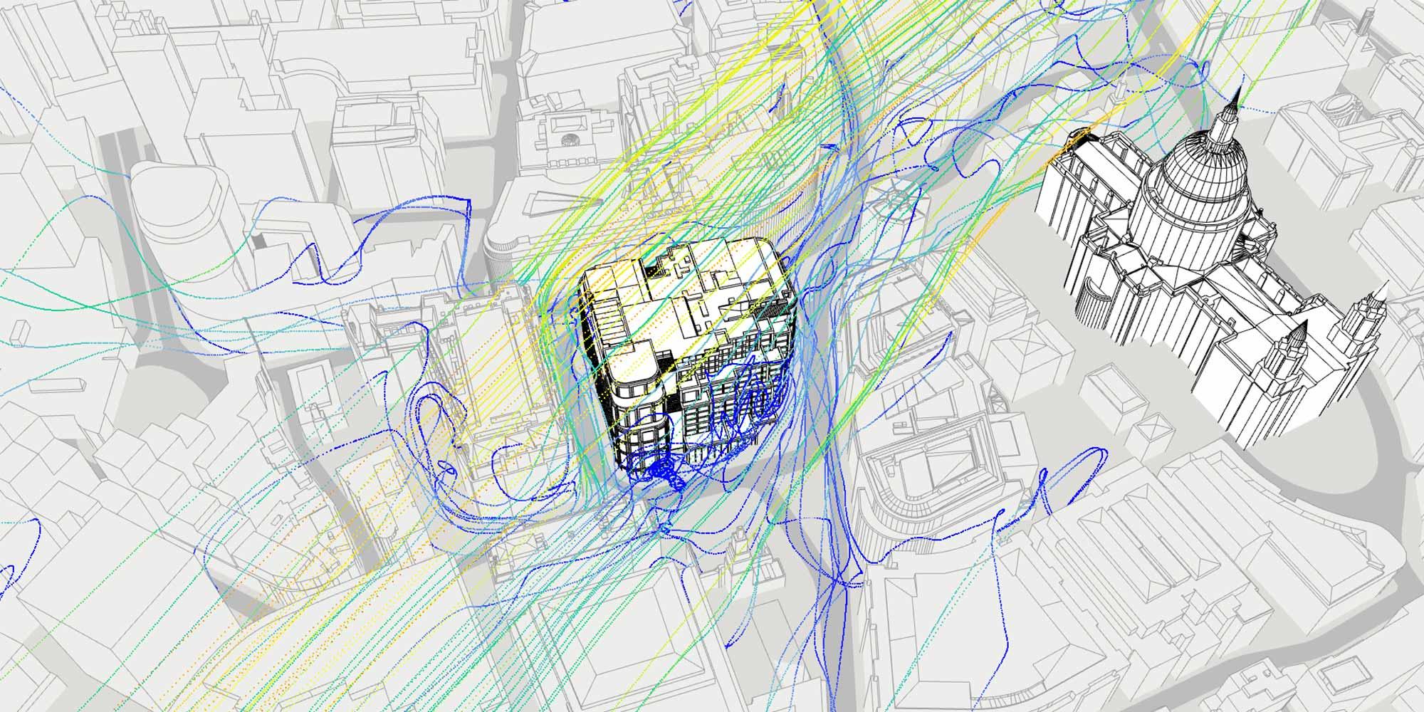 AKT II's bioclimatic study of 81 Newgate Street