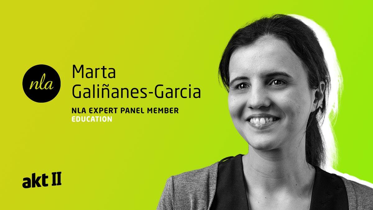 Marta-Galiñanes-Garcia on the NLA Expert Panel Education